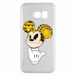 Чехол для Samsung S6 EDGE Cool Mickey Mouse - FatLine
