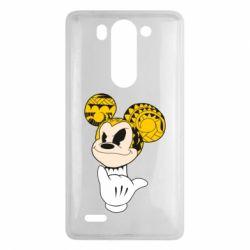 Чехол для LG G3 mini/G3s Cool Mickey Mouse - FatLine