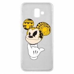 Чехол для Samsung J6 Plus 2018 Cool Mickey Mouse - FatLine