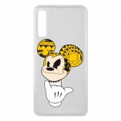 Чехол для Samsung A7 2018 Cool Mickey Mouse - FatLine