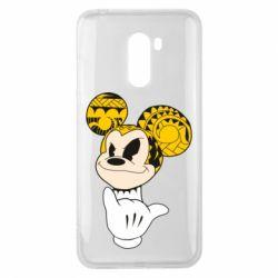 Чехол для Xiaomi Pocophone F1 Cool Mickey Mouse - FatLine