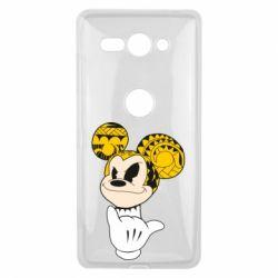 Чехол для Sony Xperia XZ2 Compact Cool Mickey Mouse - FatLine