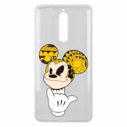 Чехол для Nokia 8 Cool Mickey Mouse - FatLine