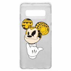 Чохол для Samsung S10+ Cool Mickey Mouse