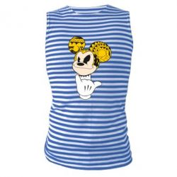 Майка-тельняшка Cool Mickey Mouse - FatLine