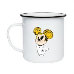 Кружка эмалированная Cool Mickey Mouse - FatLine