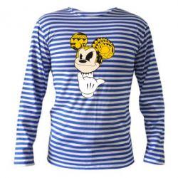 Тельняшка с длинным рукавом Cool Mickey Mouse - FatLine