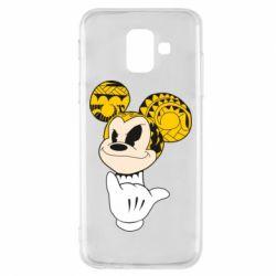Чехол для Samsung A6 2018 Cool Mickey Mouse - FatLine