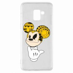 Чехол для Samsung A8+ 2018 Cool Mickey Mouse - FatLine
