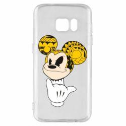 Чехол для Samsung S7 Cool Mickey Mouse - FatLine