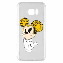 Чехол для Samsung S7 EDGE Cool Mickey Mouse - FatLine