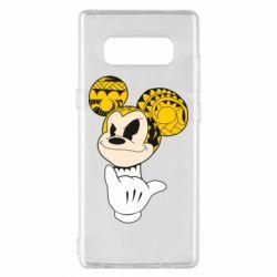 Чехол для Samsung Note 8 Cool Mickey Mouse - FatLine