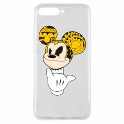 Чехол для Huawei Y6 2018 Cool Mickey Mouse - FatLine