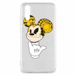 Чехол для Huawei P20 Cool Mickey Mouse - FatLine