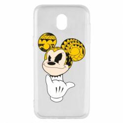 Чехол для Samsung J5 2017 Cool Mickey Mouse - FatLine