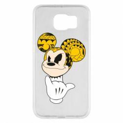 Чехол для Samsung S6 Cool Mickey Mouse - FatLine