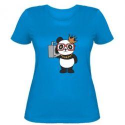 Жіноча футболка Cool panda
