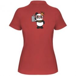 Жіноча футболка поло Cool panda