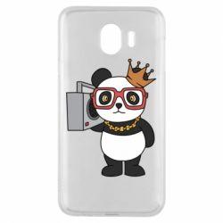 Чохол для Samsung J4 Cool panda