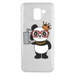 Чохол для Samsung J6 Cool panda