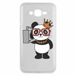 Чохол для Samsung J7 2015 Cool panda