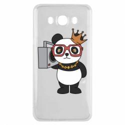 Чохол для Samsung J7 2016 Cool panda
