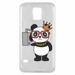 Чохол для Samsung S5 Cool panda