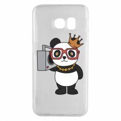Чохол для Samsung S6 EDGE Cool panda