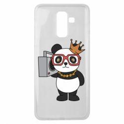 Чохол для Samsung J8 2018 Cool panda