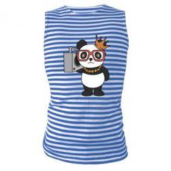 Майка-тільняшка Cool panda