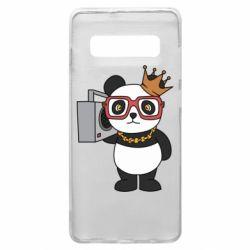 Чохол для Samsung S10+ Cool panda