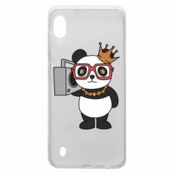 Чохол для Samsung A10 Cool panda