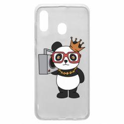 Чохол для Samsung A20 Cool panda