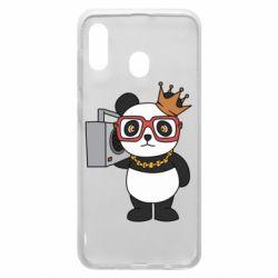 Чохол для Samsung A30 Cool panda