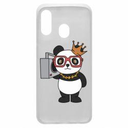 Чохол для Samsung A40 Cool panda