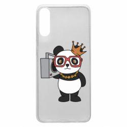 Чохол для Samsung A70 Cool panda