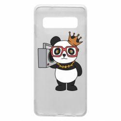 Чохол для Samsung S10 Cool panda