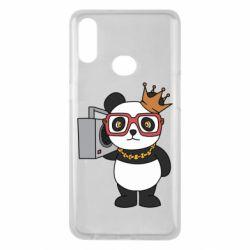 Чохол для Samsung A10s Cool panda