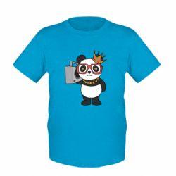 Дитяча футболка Cool panda