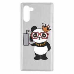 Чохол для Samsung Note 10 Cool panda
