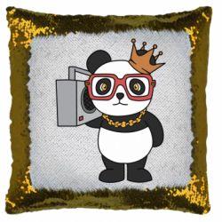 Подушка-хамелеон Cool panda