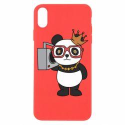 Чохол для iPhone X/Xs Cool panda