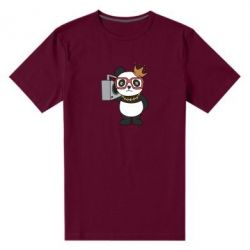 Чоловіча стрейчева футболка Cool panda