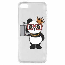 Чохол для iphone 5/5S/SE Cool panda