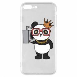 Чохол для iPhone 8 Plus Cool panda