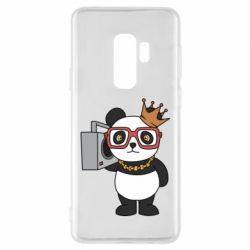 Чохол для Samsung S9+ Cool panda