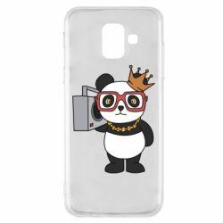 Чохол для Samsung A6 2018 Cool panda