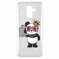 Чохол для Samsung A6+ 2018 Cool panda