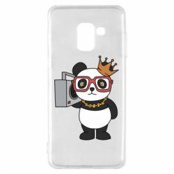 Чохол для Samsung A8 2018 Cool panda