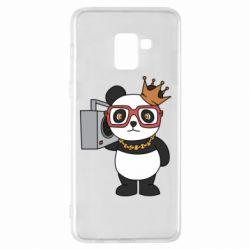 Чохол для Samsung A8+ 2018 Cool panda